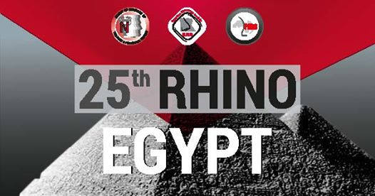 25th RHINO Egypt 2019