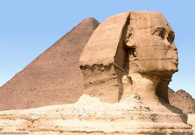 أعداد ورقة بحثية عن تمثال أبو الهول