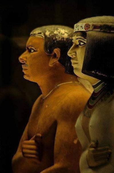 الاعداد المسبق لمحاضرة عن فن النحت في عصر الدولة القديمة