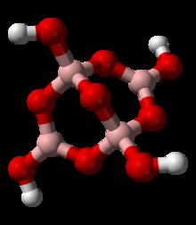 نصف قطر الألومونيوم والبورون