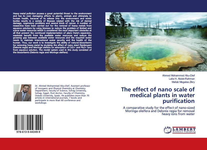 A comparative study for the effect of nano-sized Moringa oleifera and Delonix regia for removal heavy ions from water