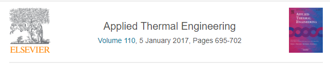 Effect of improving thermal conductivity of the adsorbent on performance of adsorption cooling system
