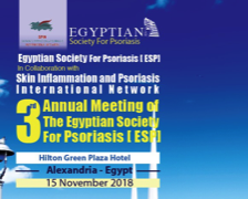Annual Meeting of Egyptian Society of Psoriasis, 2018