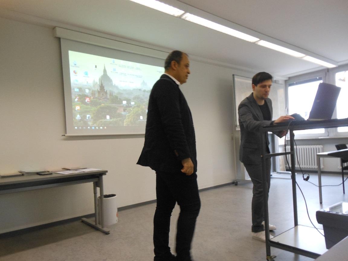 محاضرة ألقاها فى مؤتمر ONS الذي أُقيم فى ألمانيا - توبنجن - فى القترة من 4-5/5/2019م