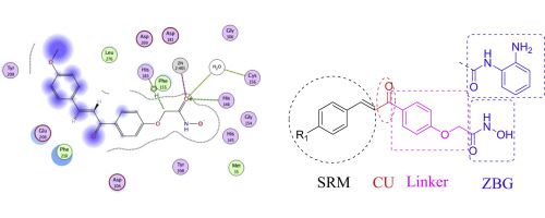 Design, synthesis, docking studies and biological evaluation of novel chalcone derivatives as potential histone deacetylase inhibitors