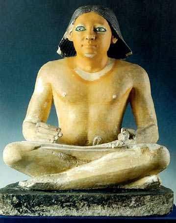أنواع العلامات التي كتبت بها اللغة المصرية القديمة