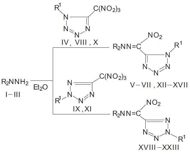 Synthesis and Antifungal Activity of Substituted Nitrotetrazole-5-Carbaldehyde Hydrazones