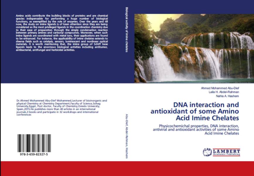 Physicochemichal properties, DNA interaction, antiviral and antioxidant activities of some Amino Acid Imine Chelates