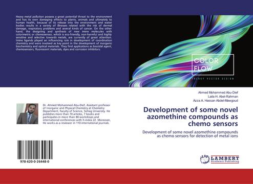 Development Of Some Novel Azomethine Compounds As Chemo Sensors