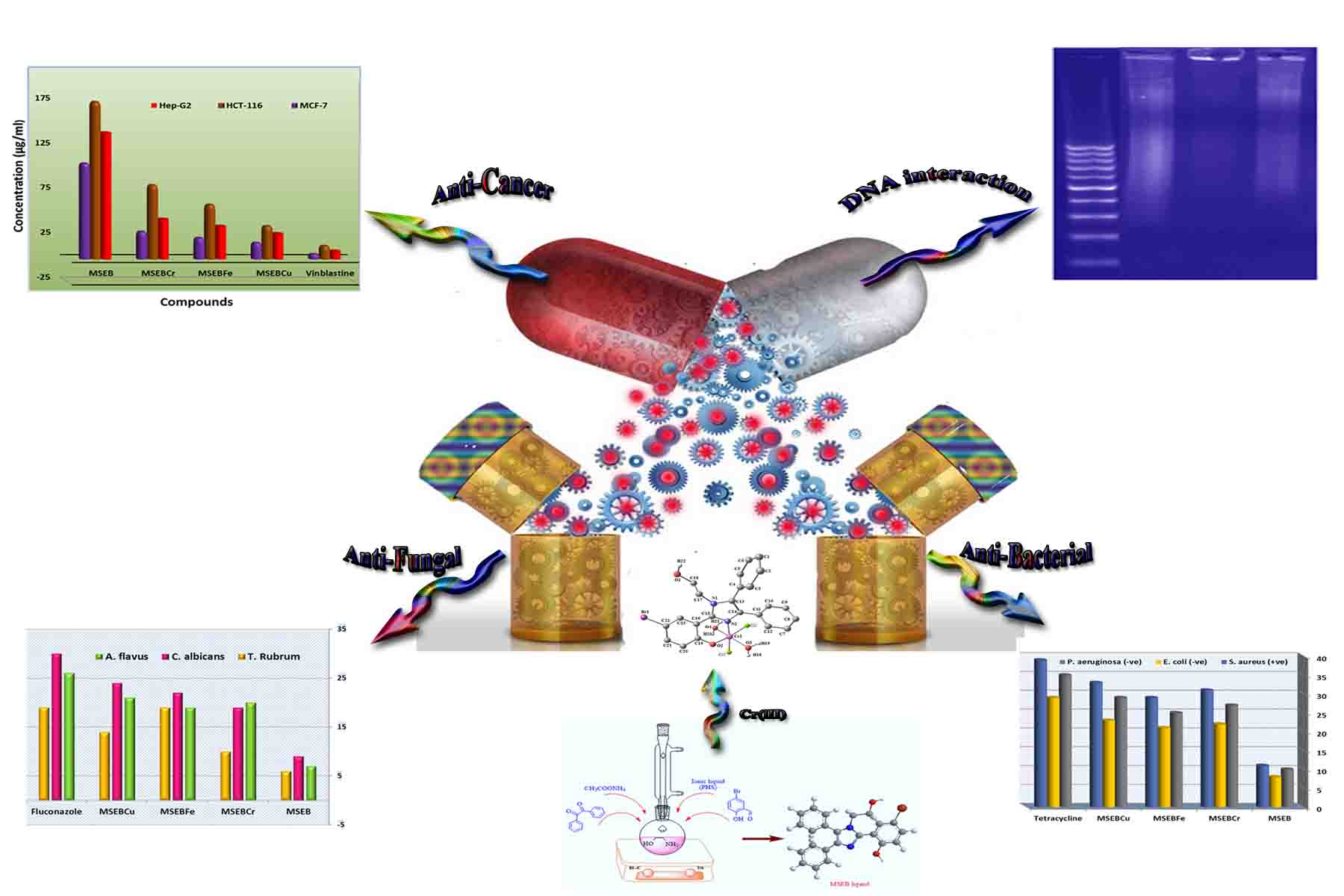 Synthesis and Characterization of New Cr(III), Fe(III) and Cu(II) Complexes Incorporating Multi-Substituted Aryl Imidazole Ligand: Structural, DFT, DNA Binding, and Biological Implications