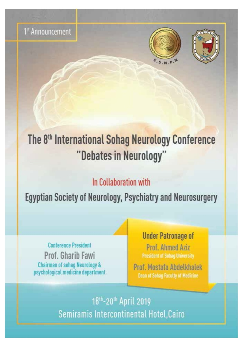 The 8th international Sohag neurology conference