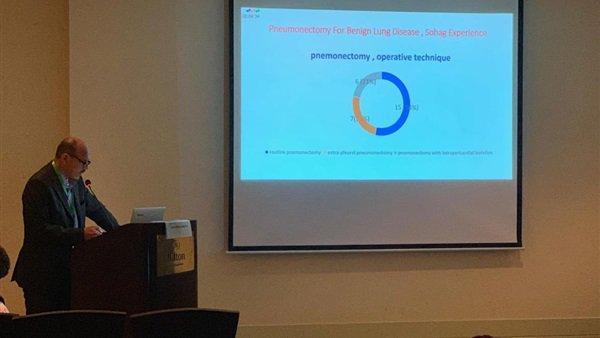 مؤتمر جراحه القلب والصدر ومشاركه من جامعه سوهاج