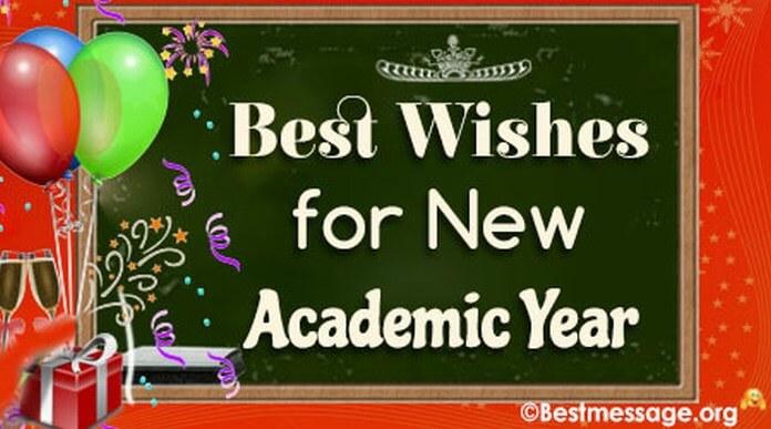 Happy New Academic Year